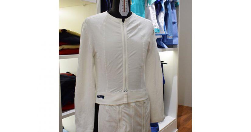 Trotinete, Trot, WearRX. Universidad del Miño, textiles técnicos, pijama de uso hospitalario