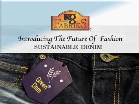 KG Fabriks, DE-Brands, Denimsandjeans, tejidos denim, Nature's Blue