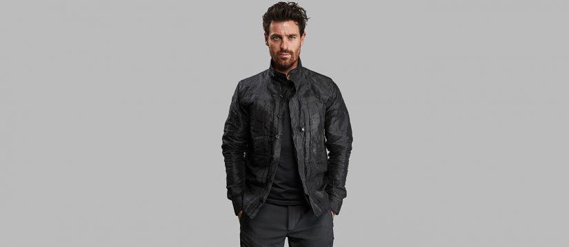 Vollebak, Full Metal Jacket, chaqueta contra virus y bacterias, chaqueta de grafeno, chaqueta de cerámica