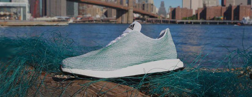 Adidas, Parley for the Oceans, plástico marino, sostenibilidad. Adidas Ultraboost DNA, Primeblue