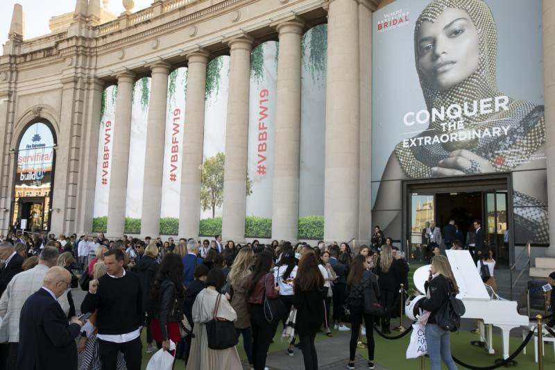 VBBFW, Valmont Barcelona Bridal Fashion Week, VBBFW Digital Experience, Pronovias, salones de moda nupcial, pasarelas