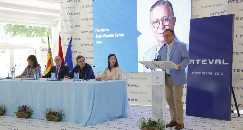 José Vicente Serna Revert, presidente ATEVAL, nuevo presidente ATEVAL, patronal textil ATEVAL, Asociación de Empresarios Textiles de la Comunidad Valenciana,