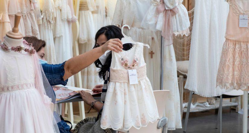 Día Mágico by FIMI, coleccionando momentos, desfile virtual, nueva normalidad, comunión, moda infantil, moda infantil de ceremonia, vestido de comunión, bautizo