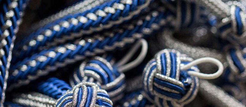 pasamanería, pasamanería premium, borlas, galones, flecos, cordones, botones, alamares, cíngulos, hombreras, forrajeras , alzapaño