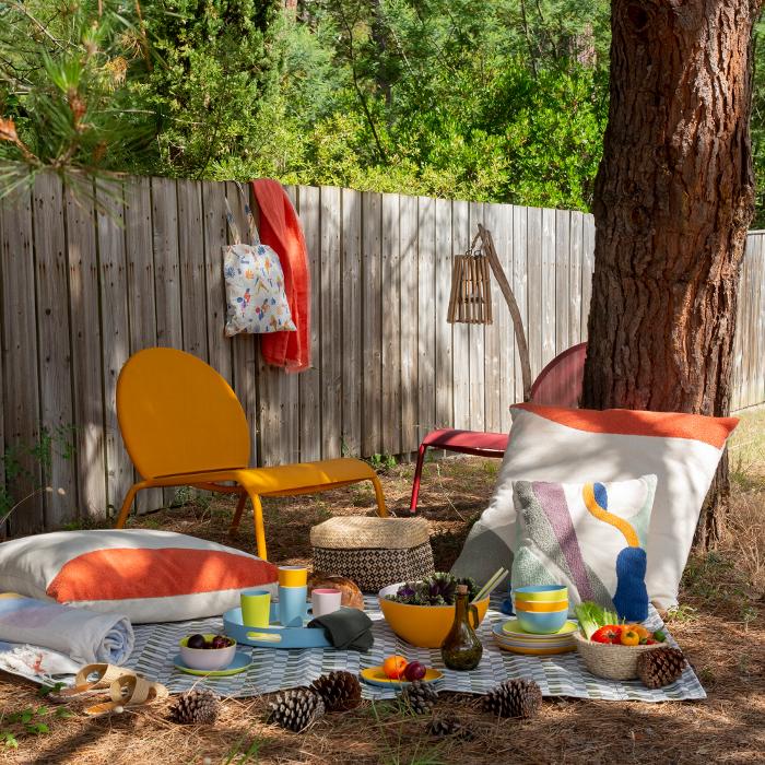 insipiración bohemia, a todo color, habitat, textil hogar, textilhogar, verano, tendencias de verano,
