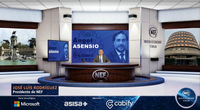Webinar Nueva Economía Fórum Online, Nueva Economía Fórum Online, reactivar la economía, ángel asensio, modaespaña, fedecon