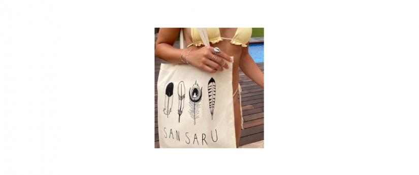 San Saru, redes sociales, accesorios