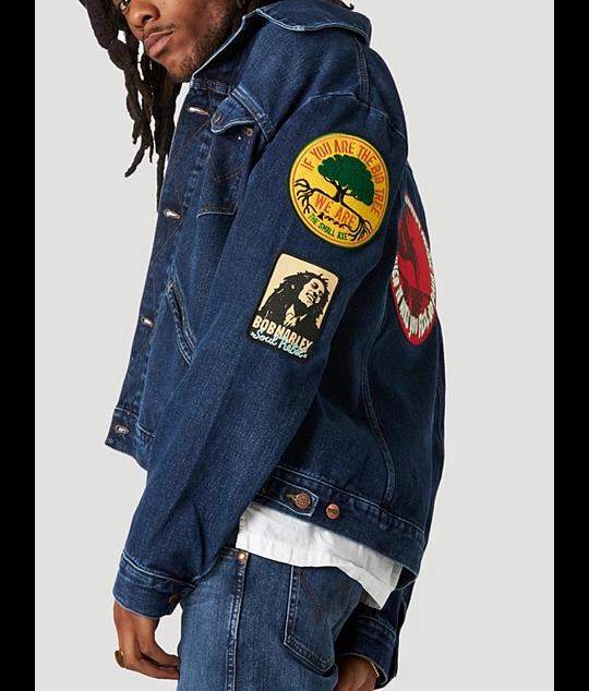 Wrangler, Bob Marley, denim, estilo Western