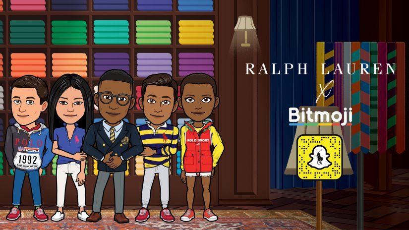 Ralph Lauren, Snap, Bitmoji, moda innovadora