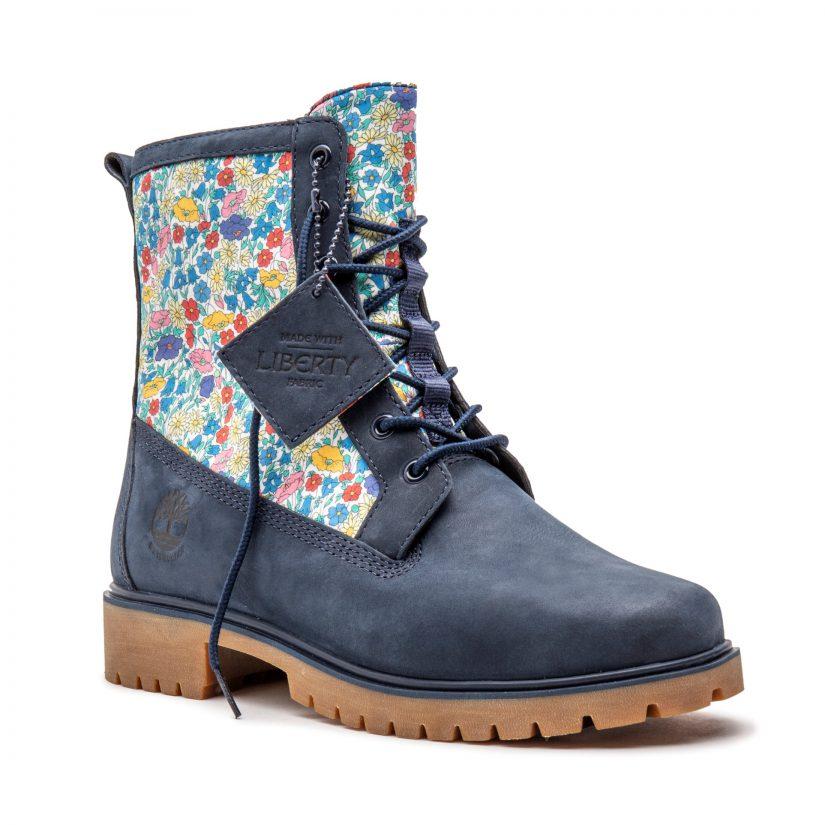 Timberland, calzado, telas Liberty