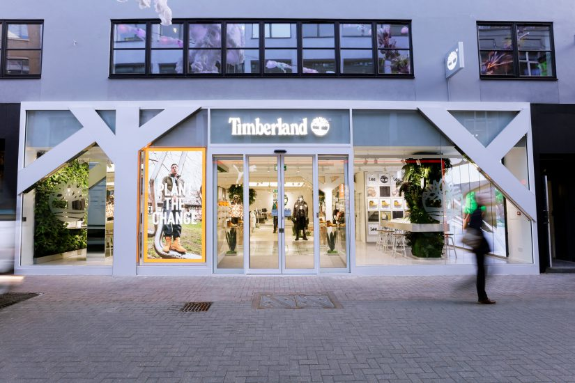 Timberland, retail, Shop!, Retail Design Institute, retail