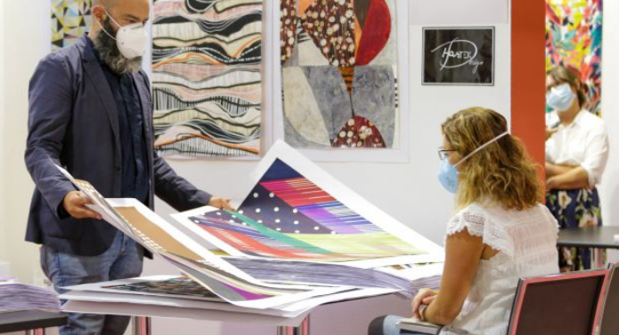 Milano Unica, salones textiles