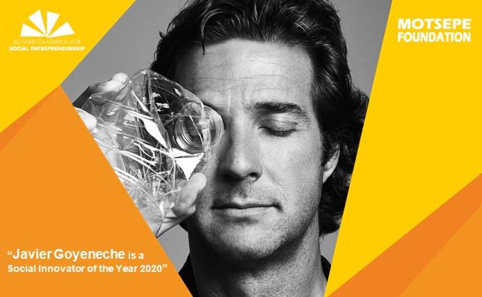Javier Goyeneche, Ecoalf, premio a los Innovadores Sociales 2020, premio Innovadores Sociales, Innovadores Sociales, Fundación Schwab