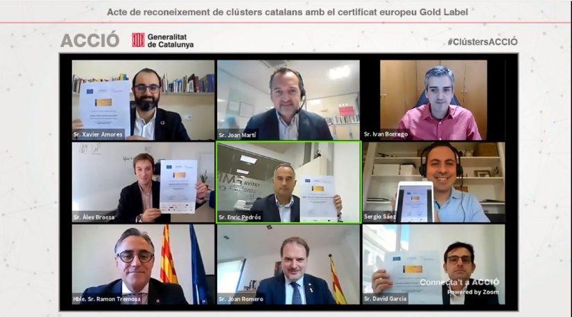 MODACC, Clúster catalán de la Moda, European Secretariat for Cluster Analysis, Gold Label, ESCA