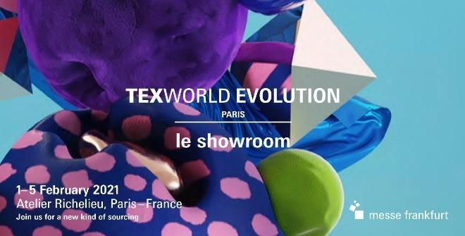 Texworld Evolution Paris - Le Showroom