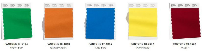 Pantone, Pantone Color Institute,London Fashion Week, otoño-invierno 2021/22,
