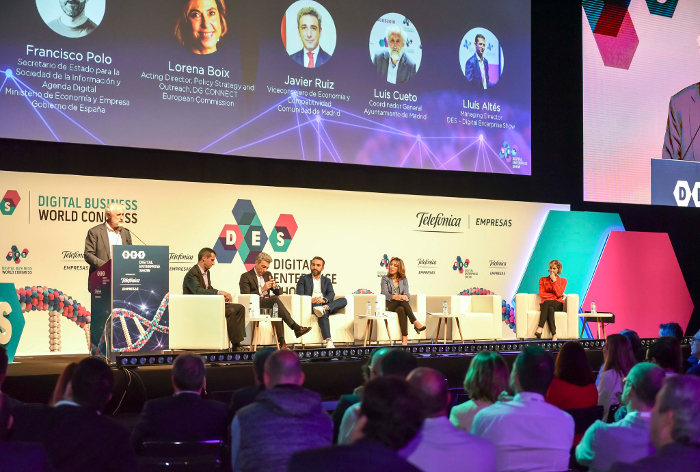 NextGeneration EU, Digital Enterprise Show, IFEMA