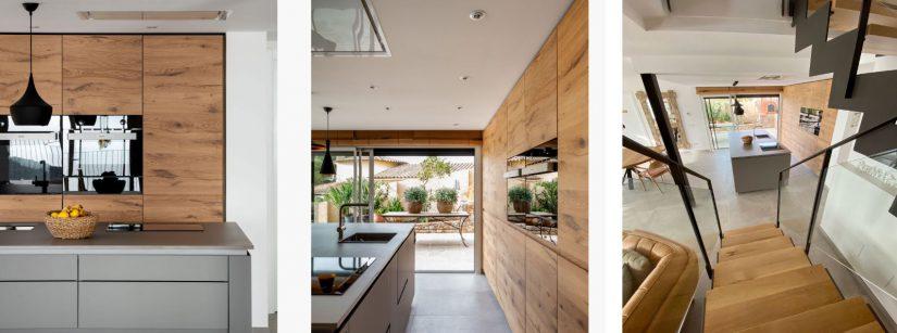 Cocina Saitra, cocina, saitra, Silvia Corbí, villa residencial , Palafrugell